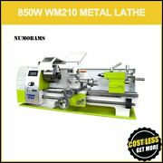 Mini Lathe Mt5 Wm210v Spindle With 850w Brushless Motor And Quenched Bed Metal Mac