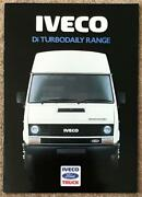 Iveco Ford Di Turbo Daily Range Commercial Sales Brochure 1988 88/366a