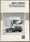 Iveco Ford New Cargo Commercial Sales Brochure 1991 Br15b/91