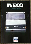 Iveco Ford 13 Tonne Rigids Commercial Sales Brochure 1986 86/326