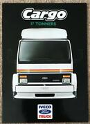 Iveco Ford Cargo 17 Tonners Commercial Sales Brochure 1988 C3c/88