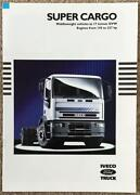 Iveco Ford Super Cargo Commercial Sales Brochure 1992 Br19/92