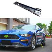 For Ford Mustang 2015-21 Dry Carbon Fiber Exterior Door Panel Trim Side Skirts