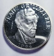 1964 Austria 25 Silver Schillings Proof .3344 Priced Right Shipped Free B90