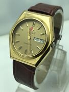 Vintage Rado Companion Day/date Goldplated Automatic Mens Watch