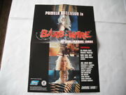 Topps Barb Wire Pamela Anderson Trading Cards Box Top Poster