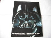 1997 Topps Star Wars Vehicles Cards Dealer Advertising Sheet And Promo Card