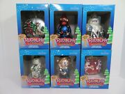 Lot 6 Rudolph And Island Of Misfit Toys Glass Christmas Ornaments Brass Key New