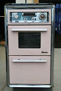 Rare O'keefe And Merritt Vintage Cabinet Flush Gas Wall Oven And Broiler / Pick Up