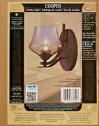 Canarm Ivl479a01orb9 Copper1 Light Oil Rubbed Bronze Wall Vanity Light