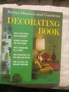Hc Better Homes And Gardens Decorating Book 1968 3rd Printing Mcm 5 Ring Binder