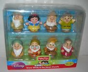 Fisher Price Little People Disney Snow White And The Seven Dwarfs - New Sealed
