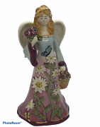 """Jim Shore 2006 Summer Angel Butterfly 8"""" Figurine By Heather Goldmine."""