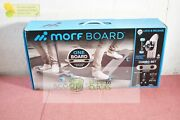 Morfboard Scooter And Skateboard Combo Set - Silver Cyan
