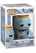 Funko Pop Ad Icons 35 Boo Berry With Cereal Shop Exclusive