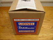 Lionel Zw 250 Watt 1949 Reproduction Boxand039s With All 4 Inserts