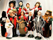 Byers Choice Dickens A Christmas Carol Set Of Eleven 11 New  - Free Shipping