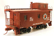 O2r Craftsman Ambriod Northern Pacific 1700 Series Wood Caboose 1314 Built