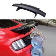 For Ford Mustang 2015-21 Aircraft Dry Carbon Fiber Rear Trunk Spoiler Wing Flap