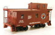 O2r Craftsman Ambriod Northern Pacific 1700 Series Wood Caboose 1780 Built