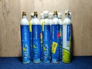 Empty Lot Of 10 Sodastream 60l Co2 Cylinder Replacement Canisters Read Desc