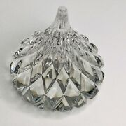 """Beautiful Waterford Crystal Tear Drop Shape Paperweight 3"""""""