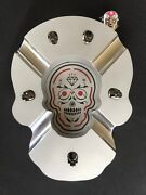 Skull Sculpture Ashtray Wicked Cool
