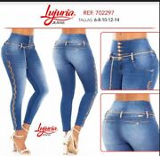 Lujuria Jeans Colombianos Colombian Push Up Jeans Levanta Cola