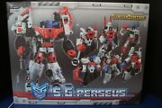 Used Transformers Tfc S.g. Perseus- 3rd Party Devastator Limited Edition Set