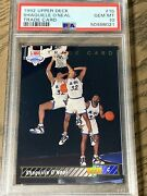 1992 Upper Deck Trade Card Shaquille O'neal Rookie Rc 1b Psa 10 Magic Lakers
