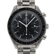 Omega Watches 3510-50 Silver Black Stainless Steel Speedmaster From Japan Used