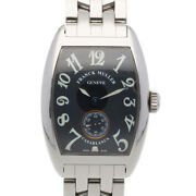 Franck Muller Watches 1752 S6 Silver Black Stainless Steel Tonocar Vex Used