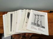 Woodworkers Journal, 17 Issues, From 1980 To 1883, Original Owner, Vintage