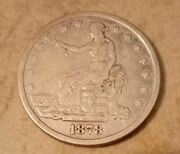 1878-s United States Silver Coin Trade Dollar One Dollar 1 San Francisco