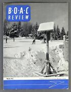 Boac Review Airline Staff Magazine March 1957 Hong Kong Route Comes Of Age