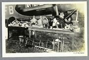 Knilm Royal Netherlands Indies Airways Airline Issue 1928 Photo Postcard Rppc