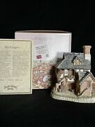 David Winter Coopers Cottage And The Chapel.andnbsp Mint Condition Box And Coas