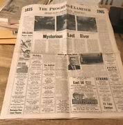 1965 Sesquicentennial Edition Orleans - Indiana Newspaper Shell Gas Station - 4