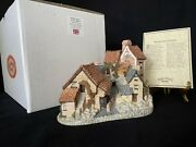 David Winter Cottages Brookside Hamlet. Mint Condition, With Box And Coa.