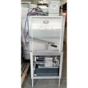 Cma Est-c-2 Dish Machine Stainless Steel Upright Stand Included Analog Gauge