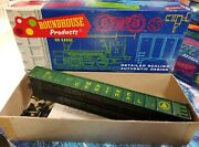 Roundhouse Maine Central 50' Gondola Car 1690 Ho Scale Partially Assembled Kit
