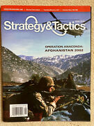Spi Strategy And Tactics Game Magazine 276 - Afghanistan 2002 - Unpunched