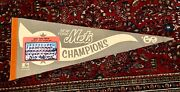 1969 Ny Mets Nl Champions Team Picture Photo Pennant Button House Ryan Seaver
