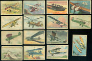 1940and039s William Paterson - Aviation Series Set Of 52