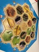 Settlers 3d Special Edition Real Bricks, Ore Etc Of Catan Case Included