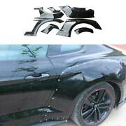 For Ford Mustang 15-17 Rocket Bunny Paint Black Wide Body Fender Flare Body Kit