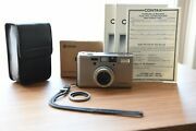 【 Mint Collection Condition】contax T3 Point And Shoot Camera With Original Box