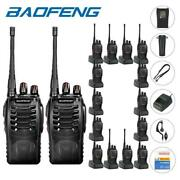 100x Baofeng Bf-888s Two Way Radio Rechargeable 2800 Mah Walkie Talkie