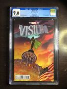Vision 1 Cgc 9.6 Wp Marvel 1/16 Sook 125 Variant Cover