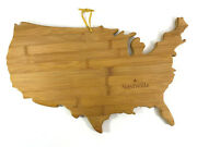 New Totally Bamboo Usa Shaped With Nashville Star Serving Cutting Board
